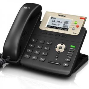 Yealink SIP-T23G Téléphone IP professionnel, 3 lignes, son HD et port Gigabit Ethernet