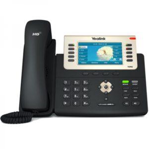 Yealink SIP-T29G : Téléphone IP professionnel, 16 lignes, son HD, écran couleur et port Gigabit Ethernet