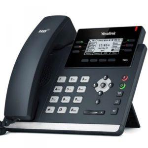 téléphonie IP professionnel de bureau Yealink SIP-T42S