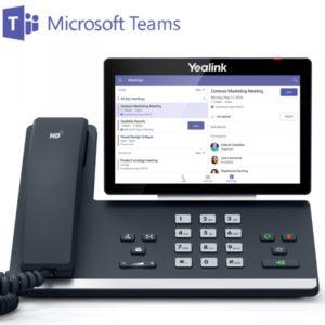 téléphone IP skype team yealink t58a