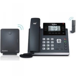 Yealink W41P : Yealink Téléphone de bureau sans-fil DECT