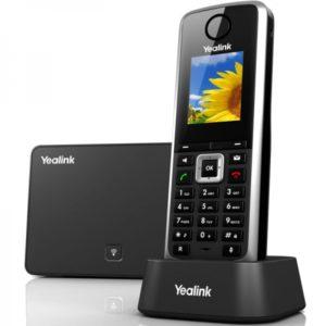 téléphone sans fil idéal pour les entreprises SIP Yealink W52P
