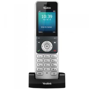 Téléphone IP sans fil Yealink W56H Combiné additionnel pour Yealink W56P, prise casque, son HD
