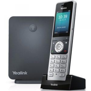 Téléphone IP sans fil yealink w 60 package