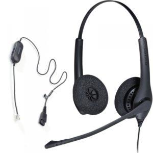 Le Jabra BIZ1500 est un micro-casque filaire professionnel d'entrée de gamme