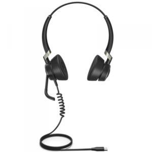 Jabra Engage 50 Stereo conçu pour être le meilleur micro-casque digital filaire professionnel