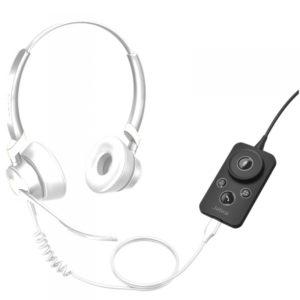 Jabra Engage Link USB-A (UC / MS) : Commande pour micro-casques filaires Jabra Engage.