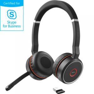 Jabra Evolve 75 : Le casque anti-bruit pour open space compatible avec Microsoft Skype